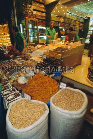 food shop grand bazaar istanbul turkey