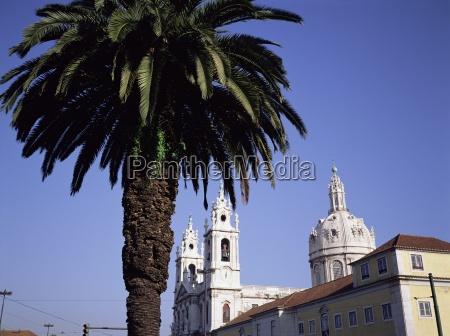 christian basilica estrela lisbon portugal europe