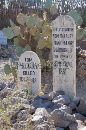 boot hill cemetery tombstone arizona united