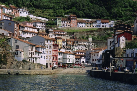 cudillero fishing village on the north