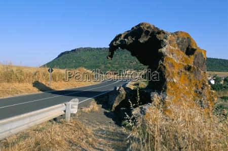 elephant rock castelsardo sassari province island