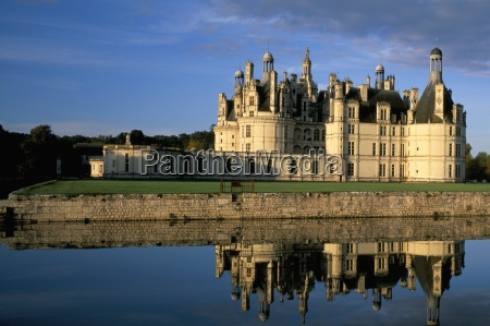 chateau de chambord unesco weltkulturerbe loir