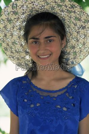 portrait of an armenian girl in