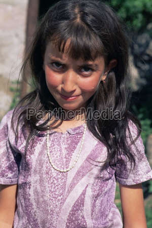 portrait of a young girl gochavank