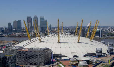 the o2 arena in greenwich with
