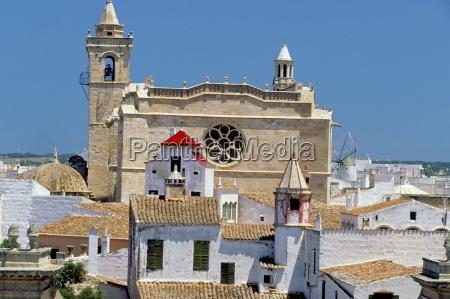 view of ciutadella and cathedral ciutadella