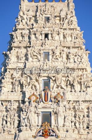 detail of a hindu temple pushkar