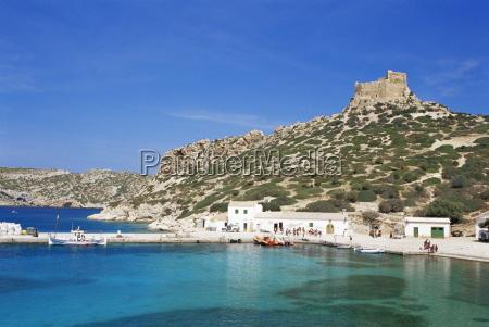 harbour and fortress cabrera island cabrera