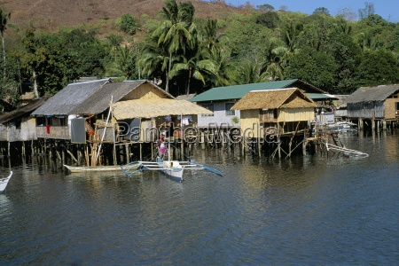 village of coron island of busuanga