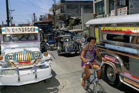 street scene manila island of luzon
