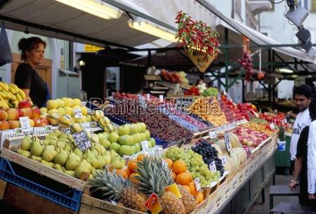 obststand markt via goethe plaza delle