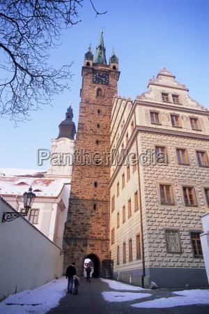 gothic black tower von 1557 und
