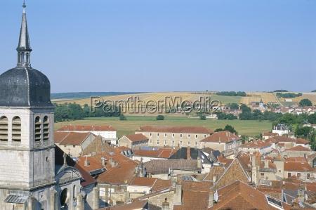 view from porte de france village