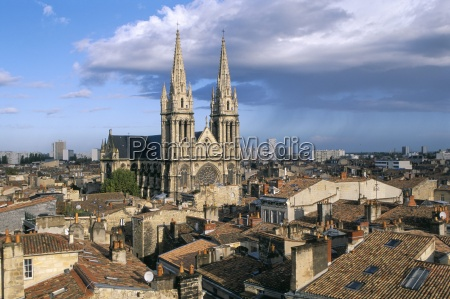 views of the roofs of the