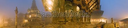 the bishwanath mandir and to the