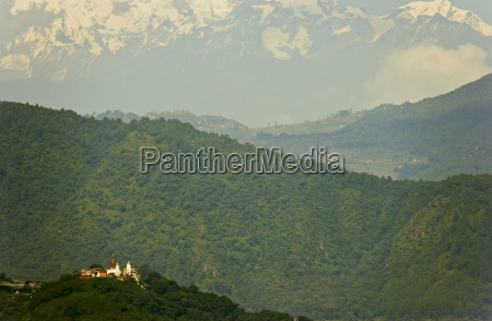 the buddhist temple of swayambhu swayambhunath