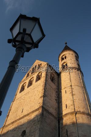 romanische kirche von kloster kloster unser