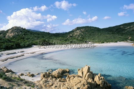 romazzino beach costa smeralda island of