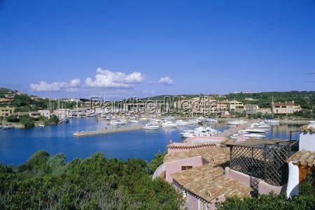 porto cervo sardinia italy mediterranean europe