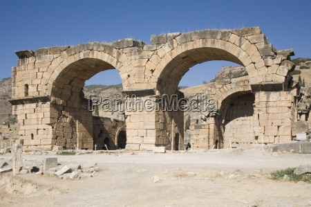 church and baths archaeological site of