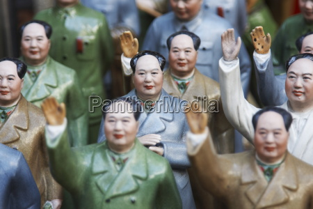 figurines of chairman mao at antiques