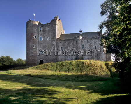 doune castle dating from the 14th