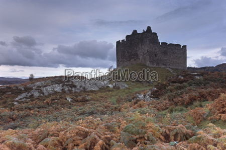 castle tioram dating from the 13th