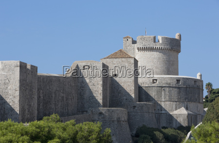 minceta fort and town walls old