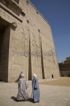 the temple of edfu egypt north