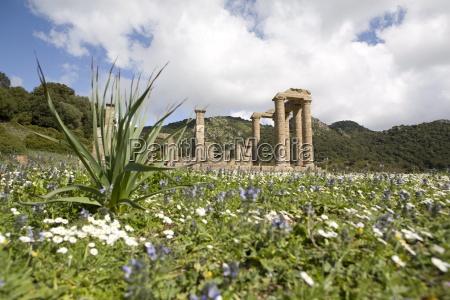 the punic temple of antas sardinia