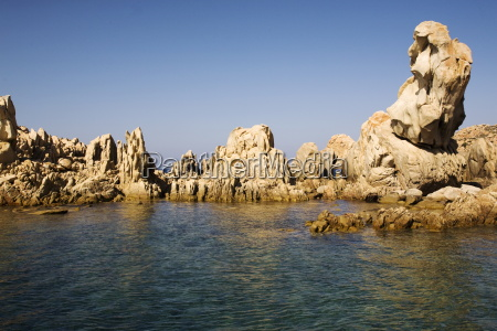 the island of razzoli maddalena islands