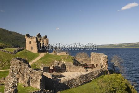 castle urquhart loch ness highlands scotland