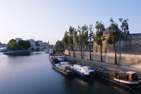 river seine paris france europe