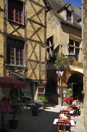 medieval house in the old town