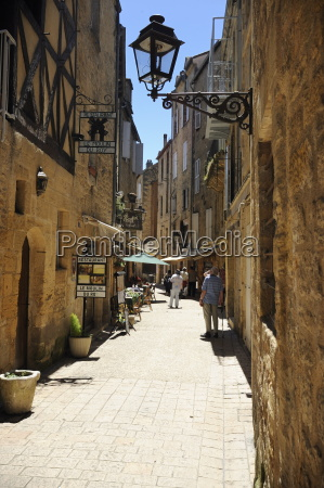 street in the medieval old town