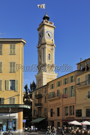 old town nice alpes maritimes provence