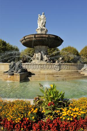 fontaine de la rotonde rotunda fountain