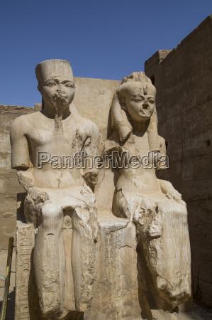 only known statue of king tutankhamun