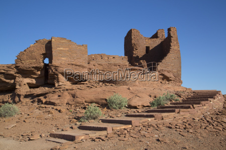 wukoki pueblo inhabited from approximately 1100