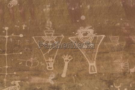 rock art anthropomorph images 600ad to
