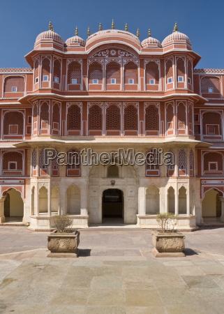 city palace jaipur rajasthan india asia