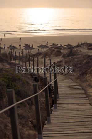 la barrosa beach cadiz costa de
