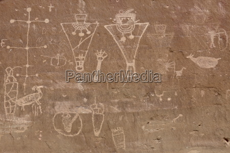 petroglyphs from the fremont culture sego