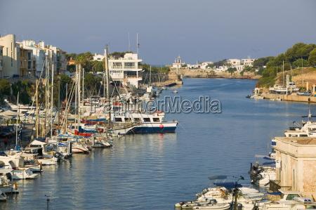 port of ciutadella menorca balearic islands