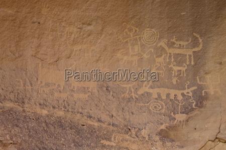 petroglyphen, in, der, nähe, von, una - 20723837