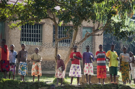 dorf von masango cibitoke provinz burundi