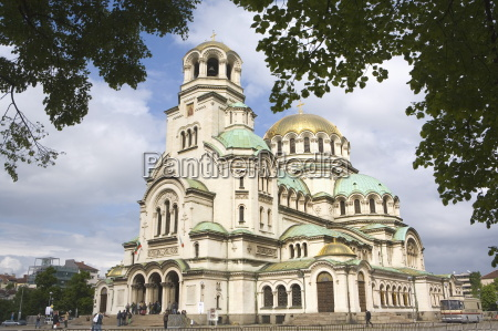 aleksander nevski church sofia bulgaria europe