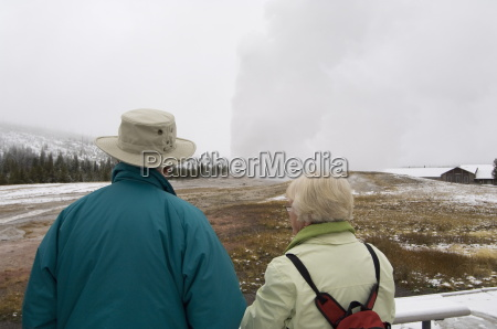 old faithful yellowstone national park unesco