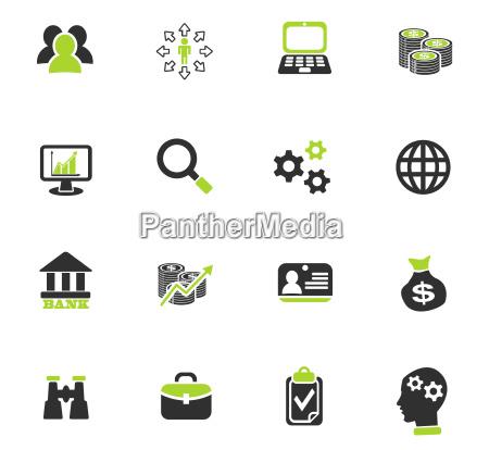 business management und human resources icon