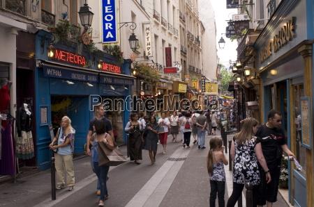 rue de la huchette quartier latin